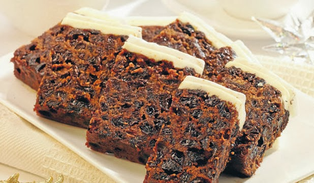 Square Rich Fruit Cake Recipes