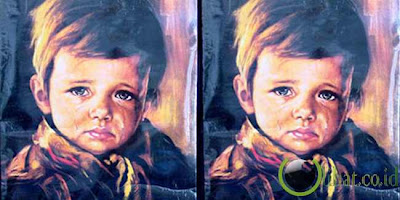 Kutukan Lukisan The Crying Boy