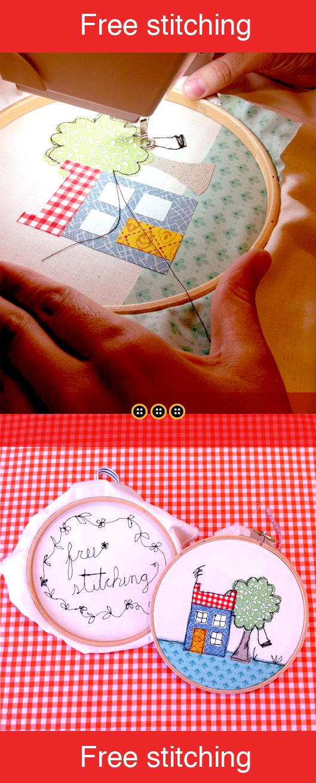 Free stitching monográfico en Trapo y Tela