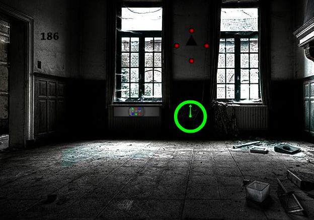 Games2Rule Abandoned Dark Room Escape