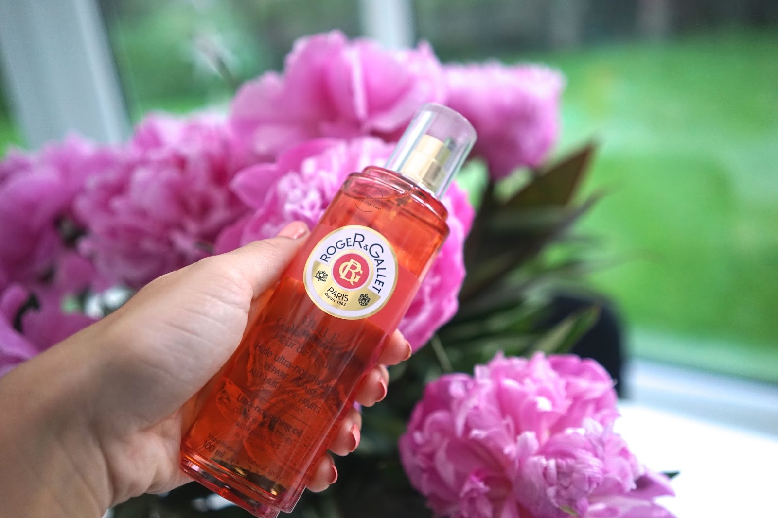 roger and gallet nourishing body oil