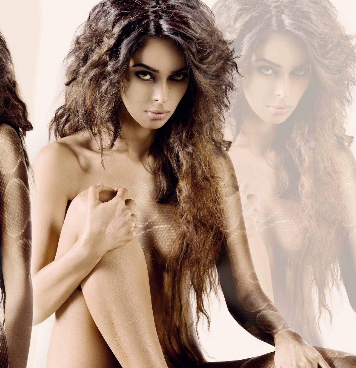 Download Song Lock Up By Karan: Mallika Sherawat Topless New Hot Photoshoot Unseen