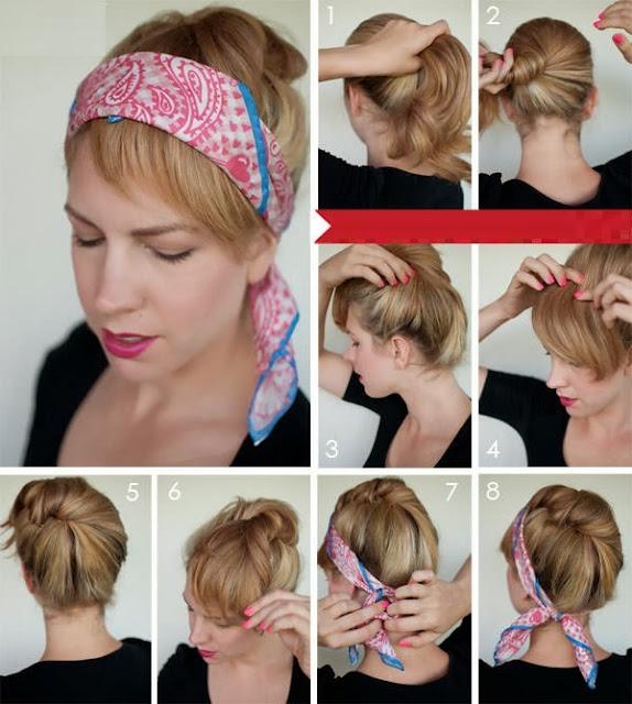 Как сделать прическу самой себе на волосы средней длины