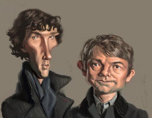 Sherlock por bangalore-monkey