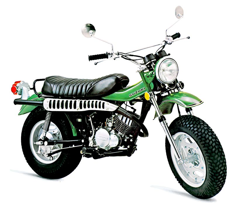 The Suzuki RV125 VanVan is an