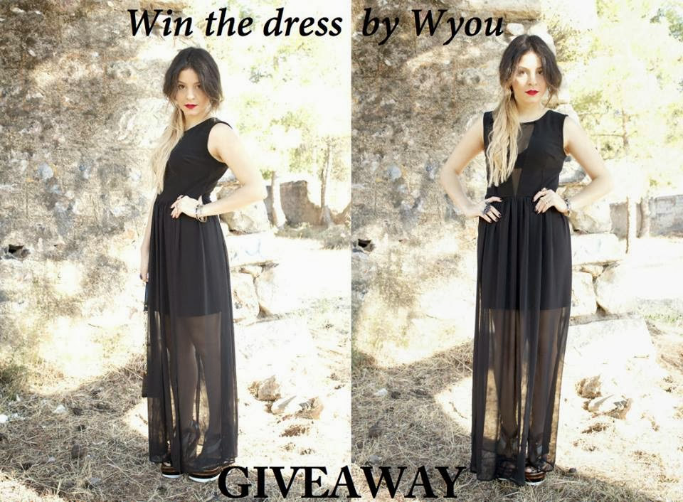 Win the black dress by Wyou!