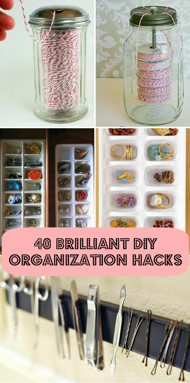 40 diy home organization ideas hacks good home design ideas all of