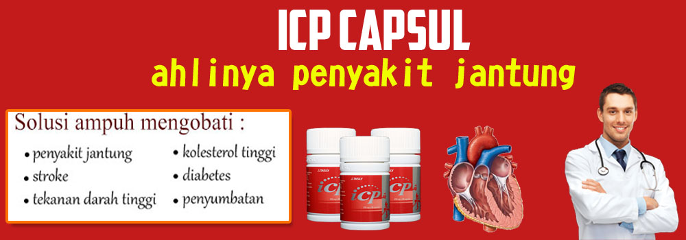 Herbal Serangan Jantung ICP Capsule