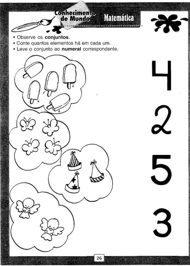 Marcadores  Atividades   Atividades Ed  Infantil  Matrm  Tica