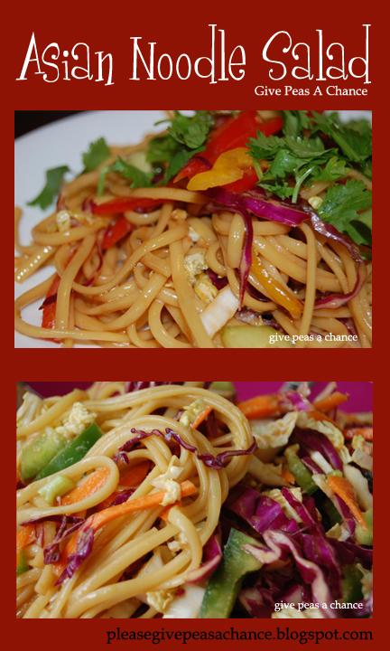 Give Peas a Chance: Asian Noodle Salad