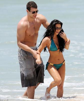 Kim Kardashian and Boyfriend Picture