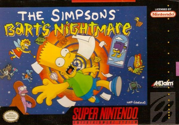 the simpsons barts nightmare nintendo download