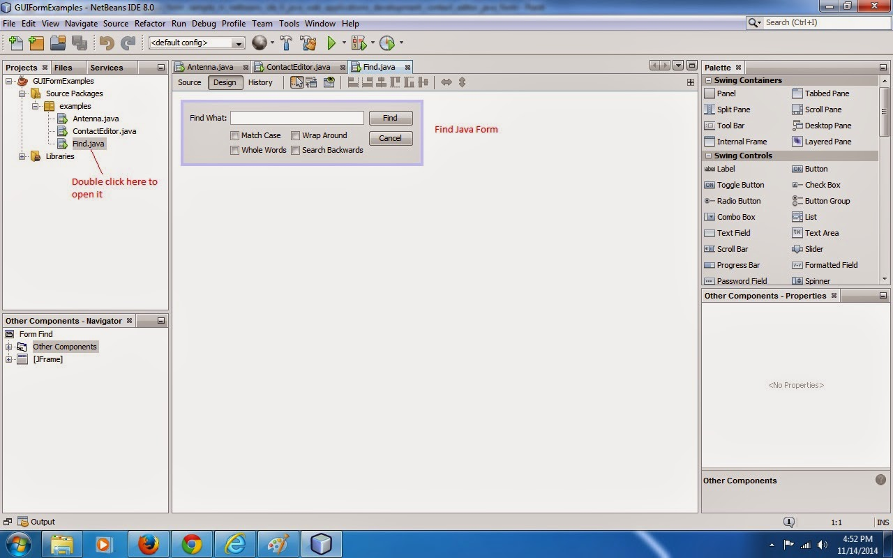 Custom java desktop application development, java se tutorial, java ...