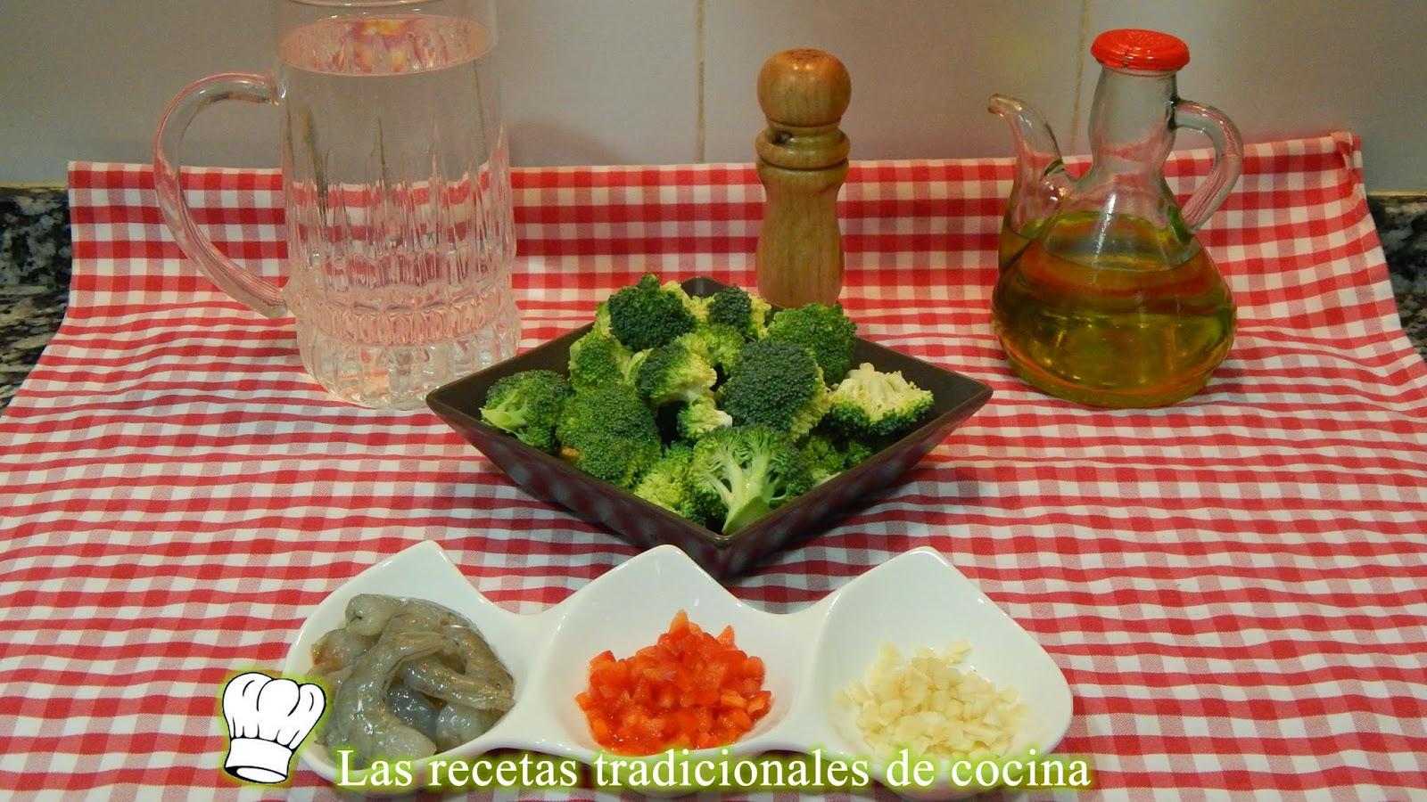 Cómo hacer brócoli al horno con langostinos