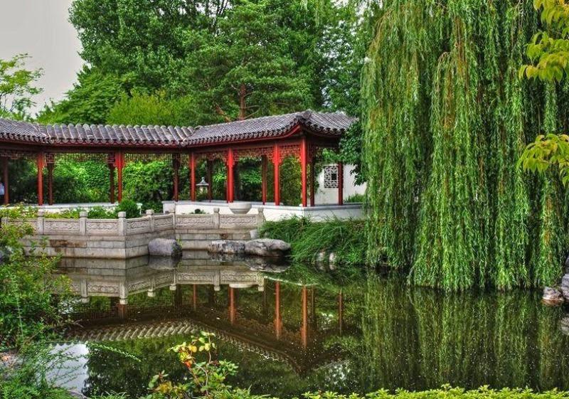 Los jardines chinos bellas im genes del arte de varios for Jardin chino