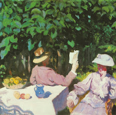 Károly Ferenczy. Morning Sunshine, 1905