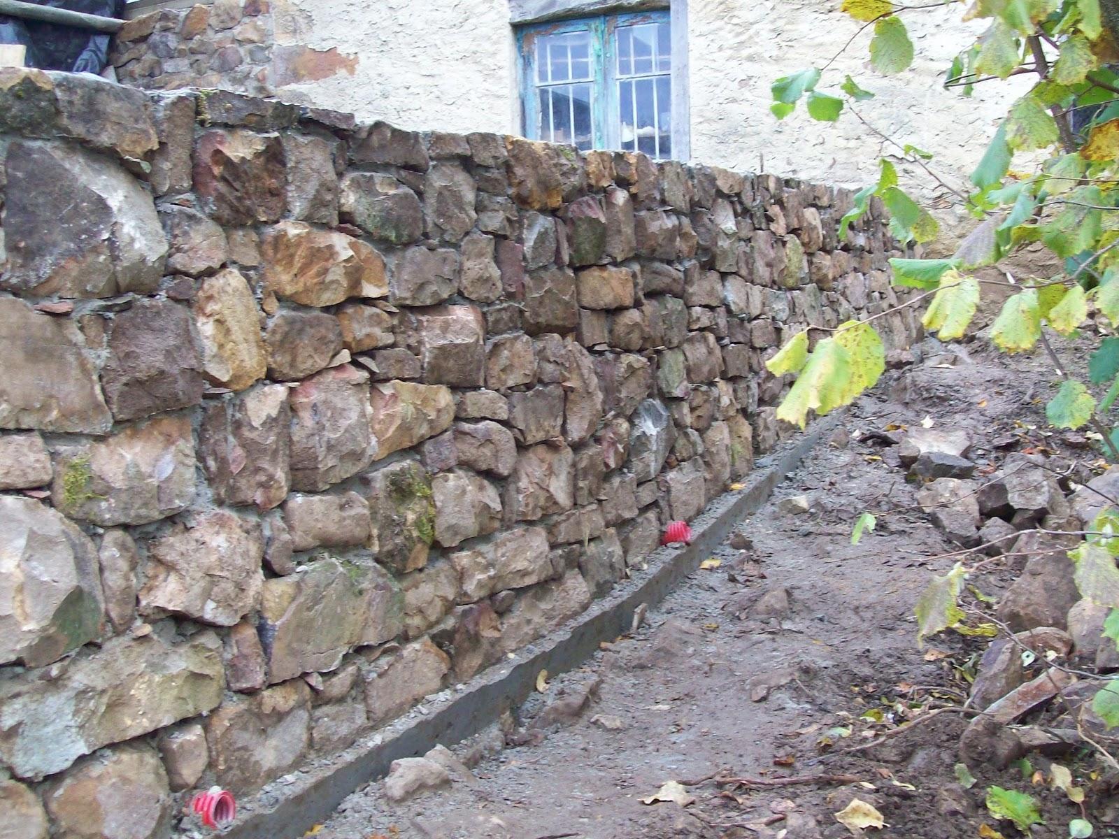 Muros de piedra elegant sin duda muros y paredes - Muros de piedra natural ...