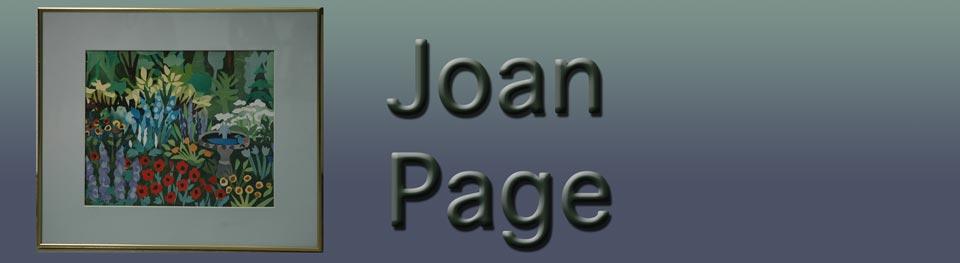 Joan Page, Artist