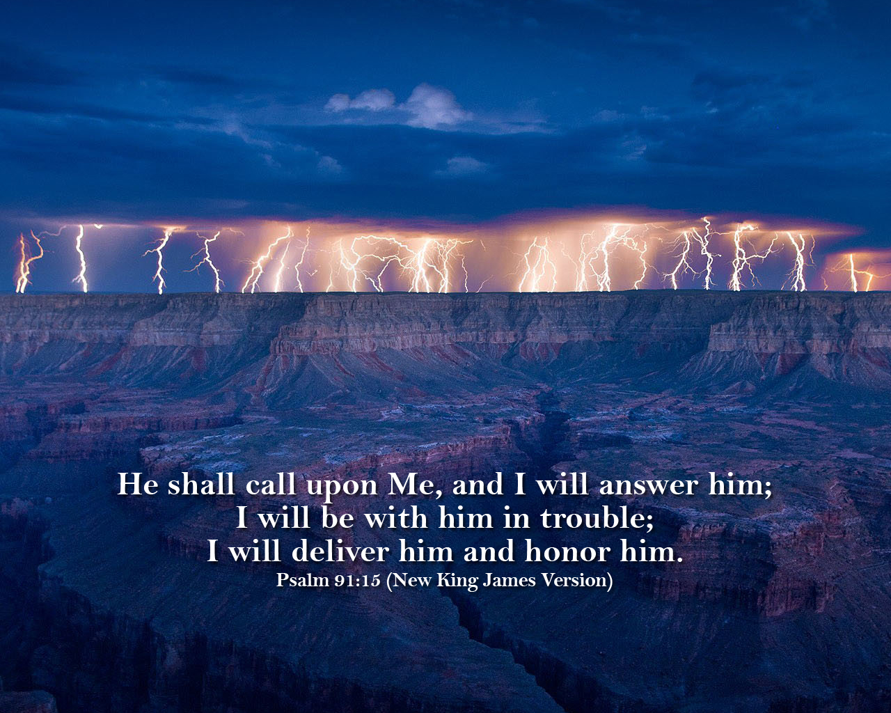 nkjv psalm 91 15 wallpaper 1