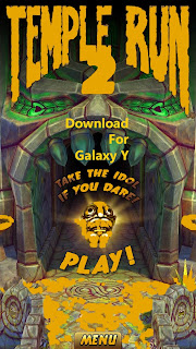 Temple Run 2 For Samsung Galaxy Y | Model S5360 Free Download ! Hurry