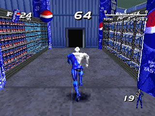 Screenshot Game Pepsi Man