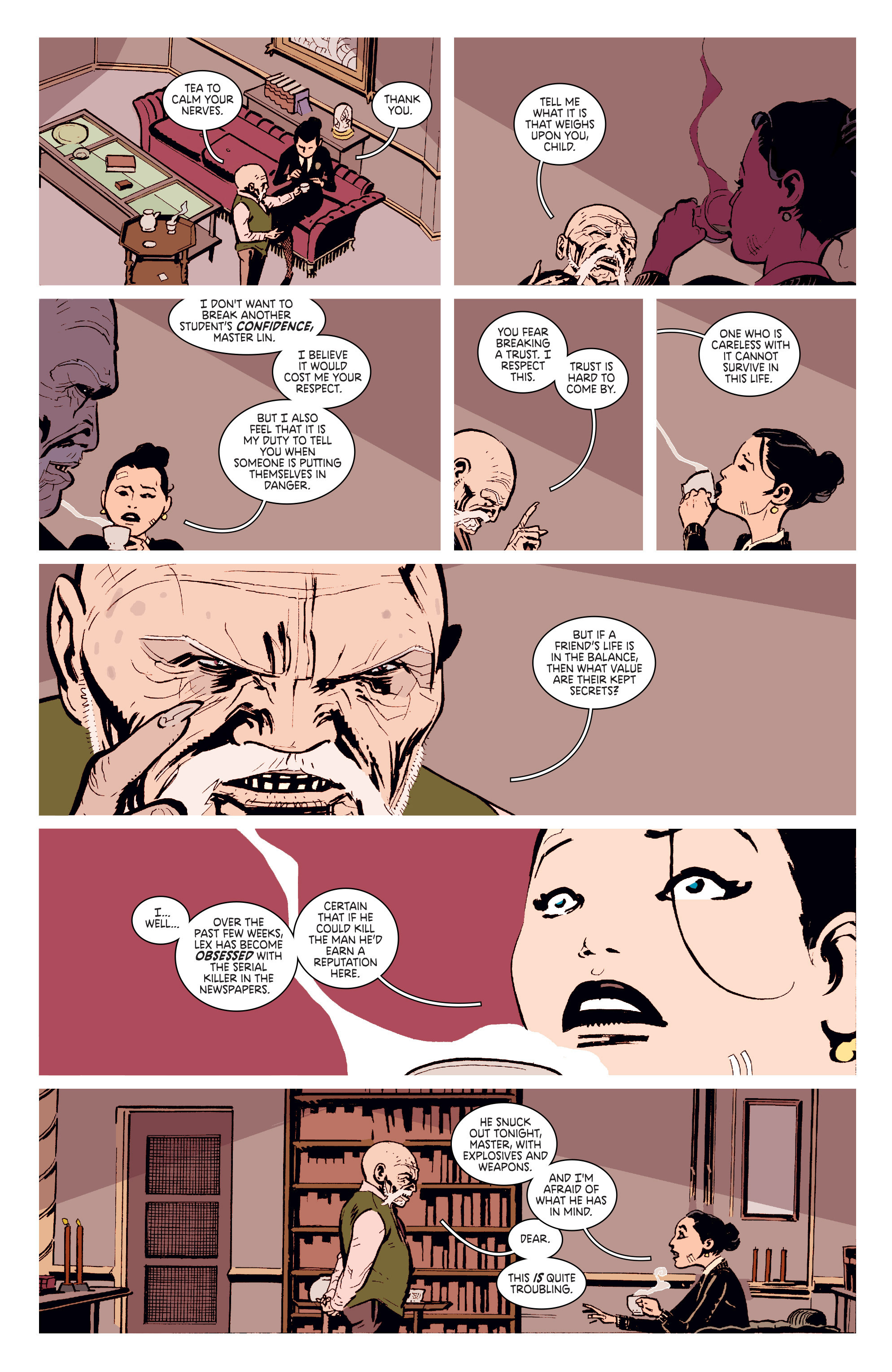 Read online Deadly Class comic -  Issue # _TPB 3 - 47