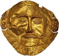 La Máscara de Agamenón es una obra de arte micénico, que se destaca por sus características plásticas y su relevancia histórica.