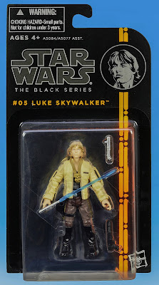 "Hasbro Star Wars The Black Series Luke Skywalker 3.75"" Figure"