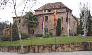 Barcelona altyapı akademisi La Masia'nın dışarıdan görünüşü