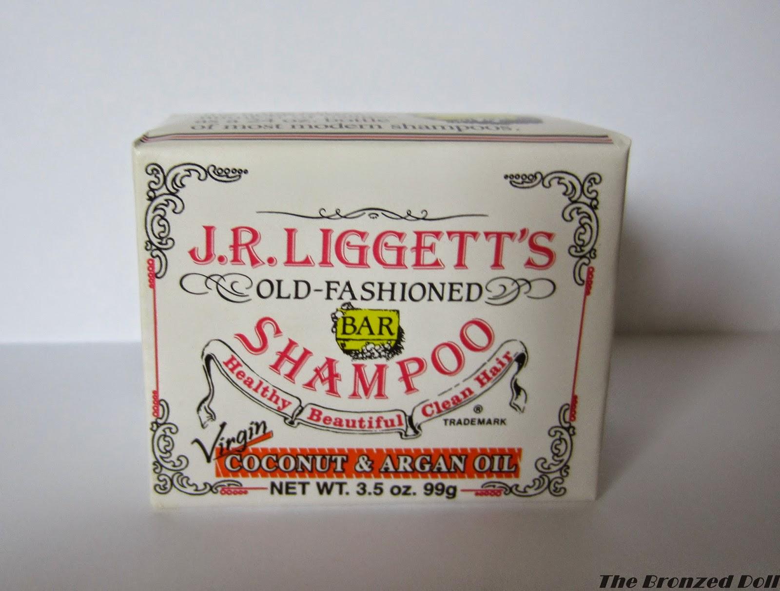 J.R LIGETT'S SHAMPOO BAR COCONUT & ARGAN OIL