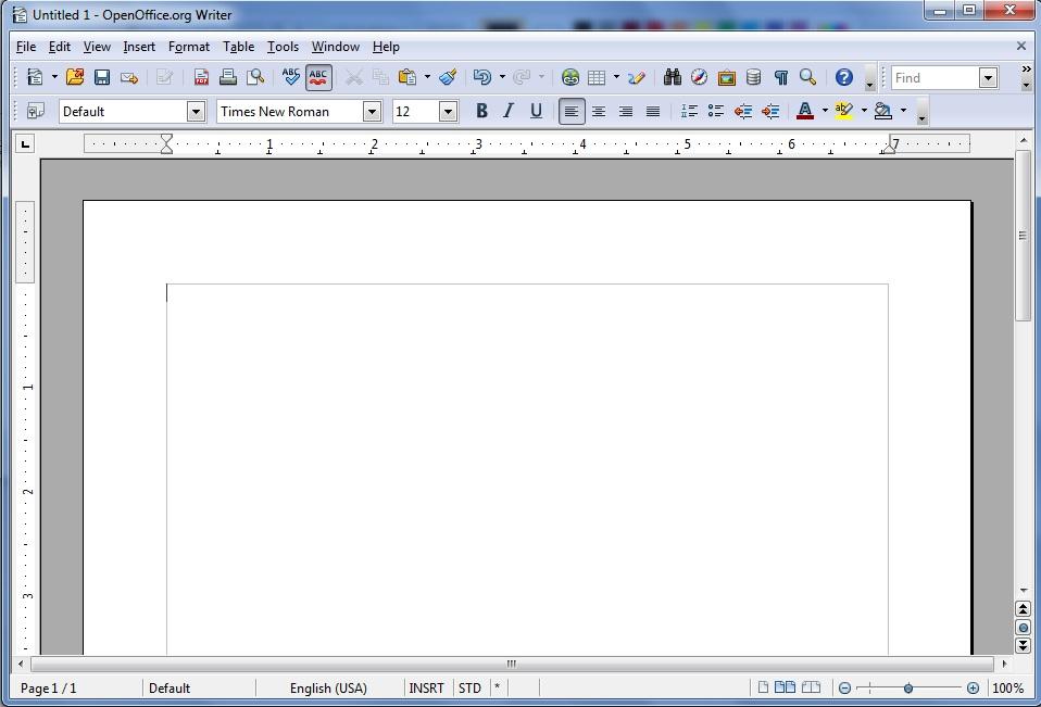 Как создать таблицу в libreoffice writer