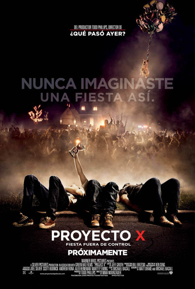 Project X (BRRip 1080p Español Latino) (2012)