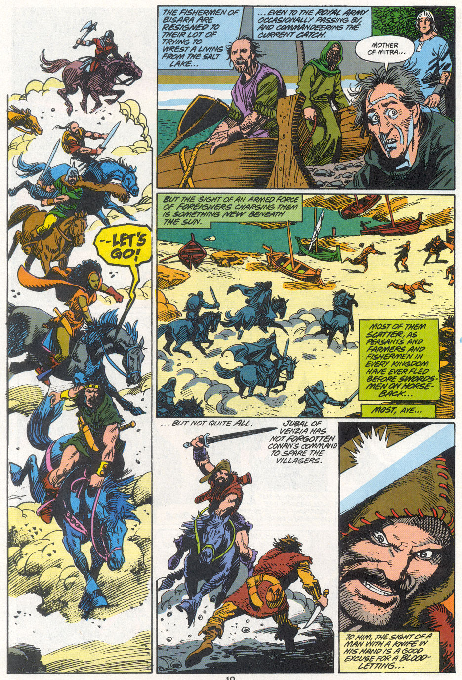 Conan the Barbarian (1970) Issue #270 #282 - English 8