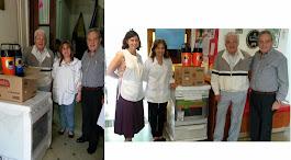 Donación a las Escuelas JM Estrada y Sta.Cecilia