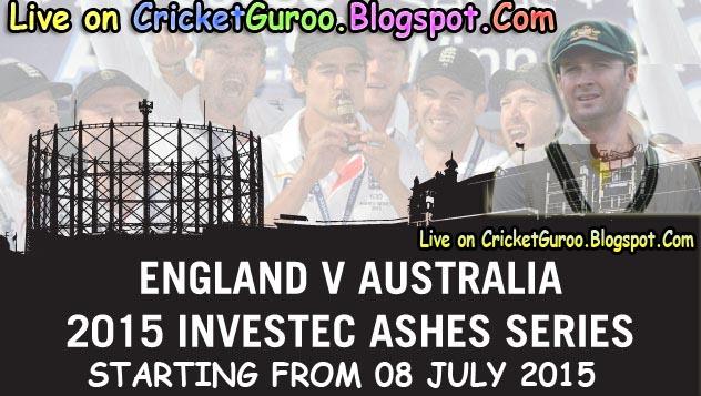 The Ashes 2015 Ausralia vs England