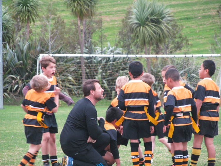 Eden Gold U7 Rippa rugby team - our coach is AWESOME
