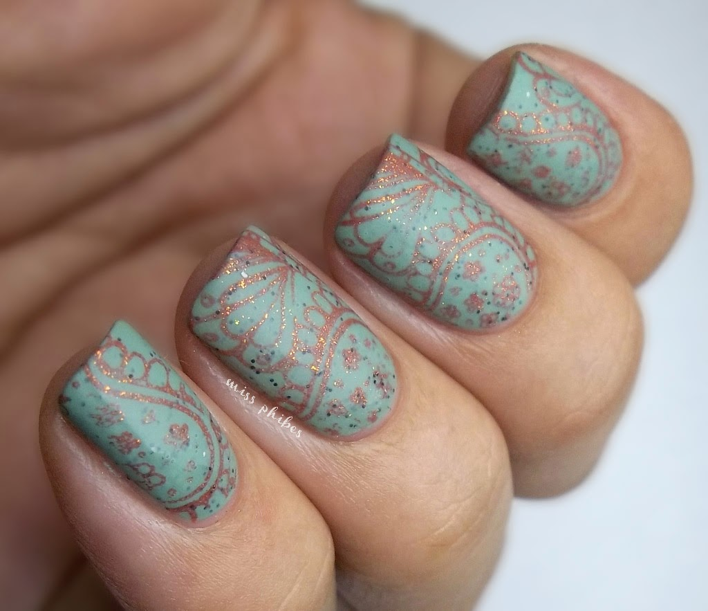 Miss Phibes + Born Pretty Store stamping