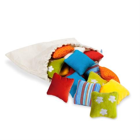 coussins sensoriels activit montessori milune la vie d 39 une nounou. Black Bedroom Furniture Sets. Home Design Ideas