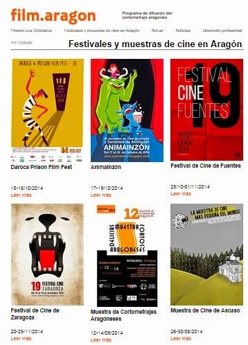 Festivales de cine en Aragón