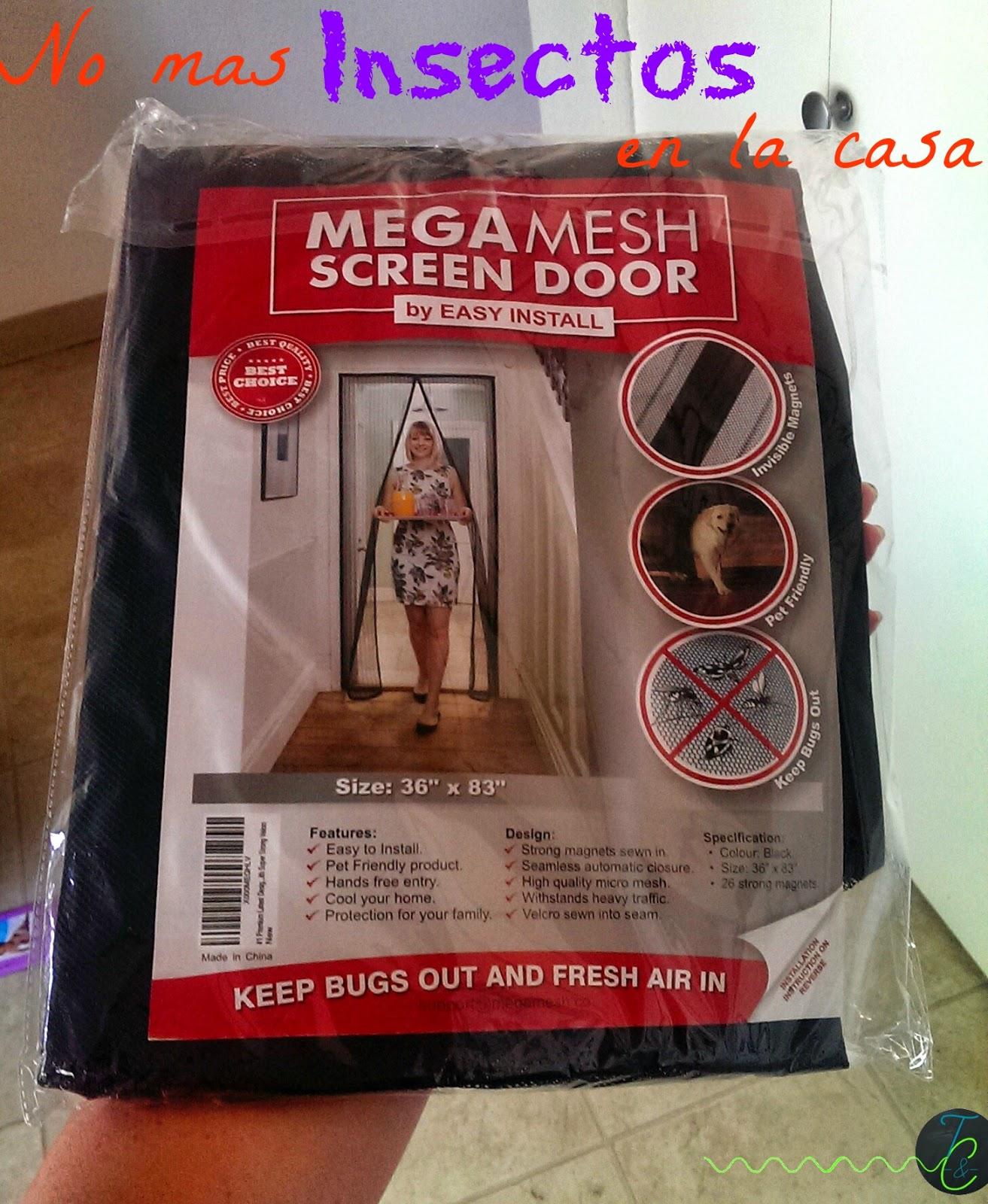 MegaMesh Puerta de Screen Magnética