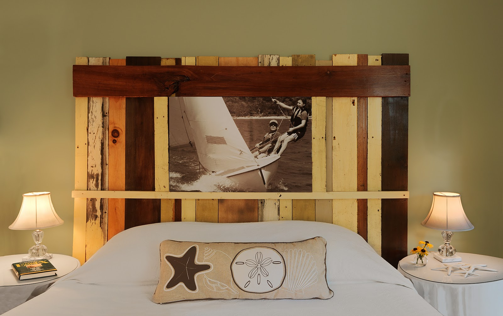 CHECK OUT MY SALVAGED WOOD HEADBOARD AND OTHER DIY HEADBOARD IDEAS! |