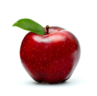 wajah cantik karena buah apel