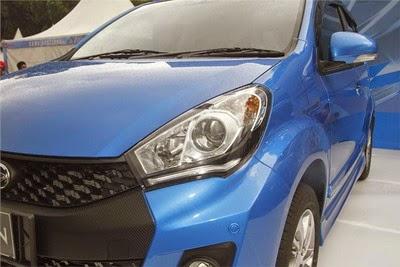 Fitur Daihatsu New Sirion Facelift 2015