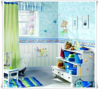 แบบห้องน้ำสำหรับเด็ก