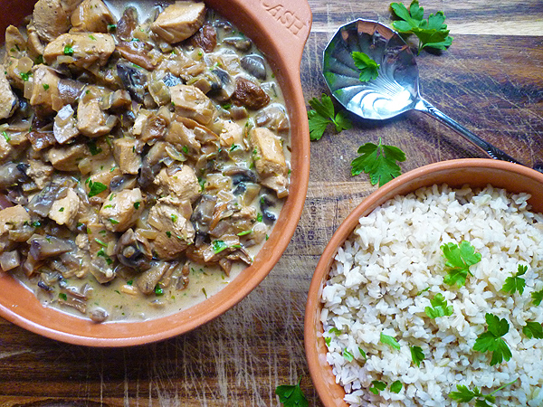Sherry Chicken and Mushroom Casserole Recipe