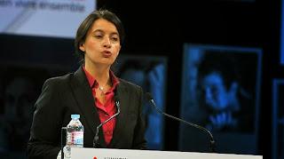 Cécile Duflot, la ministre du Logement, le 24 septembre 2013 lors du 74e congrès de l'Union sociale pour l'habitat, à Lille (Nord)