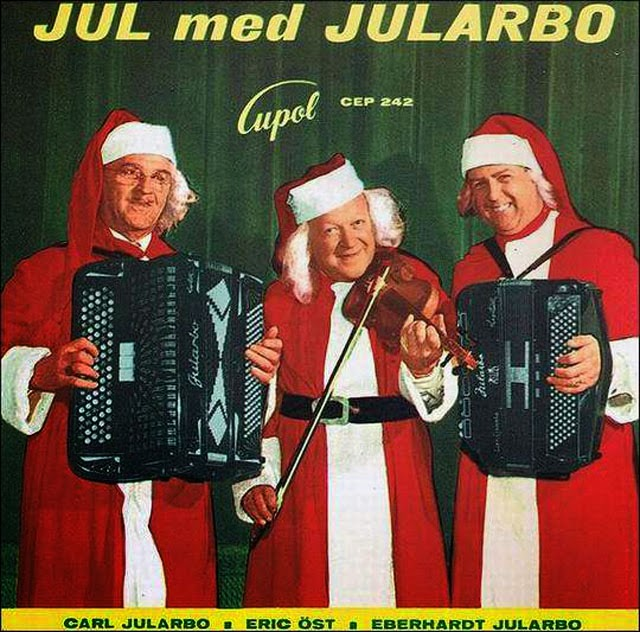 A Collection of 32 Strange Christmas Album Covers ~ vintage everyday