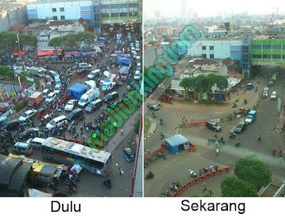 Foto: Kondisi Tanah Abang Dulu Dan Sekarang Setelah Pembersihan PKL