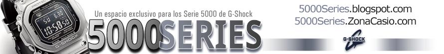 5000 Series de G-Shock