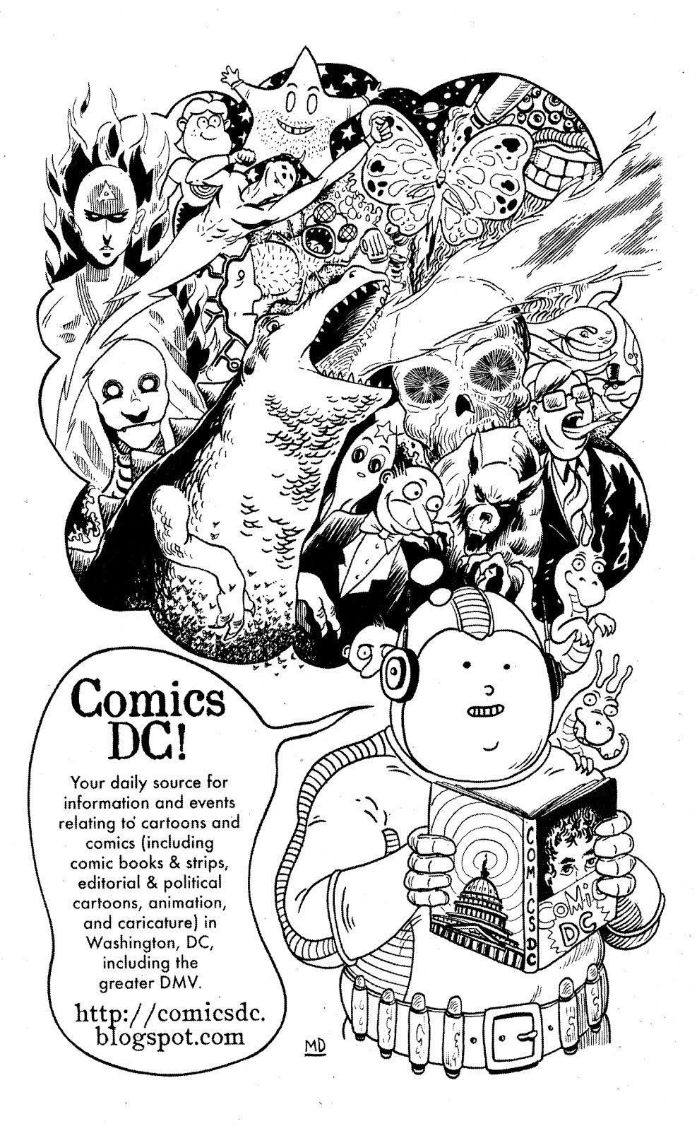I Just Got A Copy Of The New Free Comics Newspaper Magic Bullet 15 Matt Dembicki Drew Ad For Us